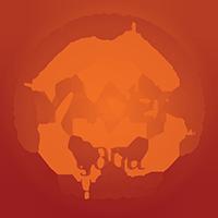 kulaté oranžové logo YACEP ve formátu png yoga alliance magdalena klizova